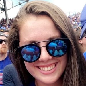 6ad895dead Diff Eyewear Accessories - Astro blue polarized diff sunglasses